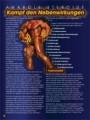 Anabole Steroide. Kampf den Nebenwirkungen