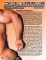Anabole Stroide und Wachstumshormone. Ultimativer Muskelaufbau durch gegenseitige Wirkungsverstärkung! Von Manfred Bachmann.
