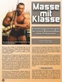 Massse mit Klasse . Ernährungsstrategien für einen Masseaufbau ohne Fettansatz! Von Erik Dreesen.