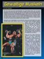 Gewaltige Muskeln. Von Erik Dreesen.