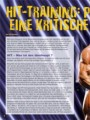 Hit Training: Pro und Contra. Eine kritische Betrachtung. Von Erik Dreesen.