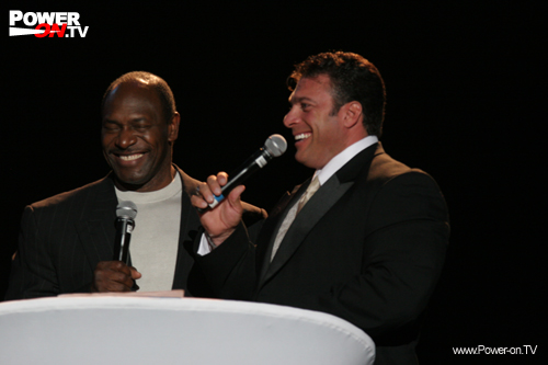 Bob Cicherillo und Lee Haney