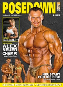 Titelbild des Posedown Magazins Nr.2, 2013