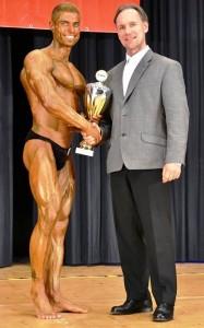 Gesamtsieger der GNBF DM 2013:  Leon Schmahl mit Verbandspräsident Berend Breitenstein (Foto mit freundlicher Genehmigung von Berend Breitenstein)