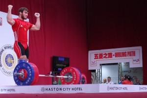 Apti Aukadov siegt bis 85 kg ( Foto: wwc2013/ FOTO LUKASZ GROCHALA / CYFRASPORT)