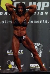 Int. Deutsche Meisterin Bodybuilding der Frauen: Gabi Zimmermann aus Hagen