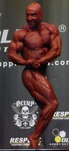 Gesamtsieger Männer Bodybuilding: Master-Weltmeister Jens Schneider