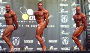 David Hoffmann (mitte) holt den Titel im Superschwergewicht über 100 kg