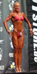 Überzeugende Leistung in der großen Frauen-Figur-Klasse: Stephie Szesny