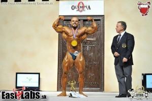 Ibrahim Sami aus Ägypten ist Amateur Mr.Olympia 2013 (Foto: IFBB.com)