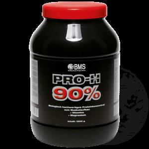 PRO-H 90: Vier hochwertige Eiweißkomponenten mit extrem hoher biologischer Wertigkeit