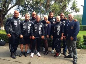 Das Team des DBFV bei der IFBB Junioren und Masters Weltmeisterschaft 2014 in Morelia, Mexiko ( Foto: R. Szesny)
