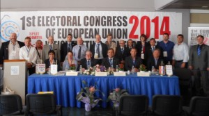 Teilnehmer des ersten Kongresses der EU-Gewichtheber Konföderation (Foto: iwf.net)
