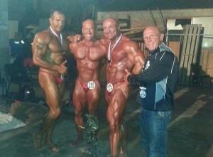 Starke Masters: l-r - Mario Kasper,Ralf Szesny, Horst Wetterau und Werner Zenk ( Foto: R.Szesny)
