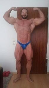 Sergej mit ca. 107 kg nüchtern während der Entladephase