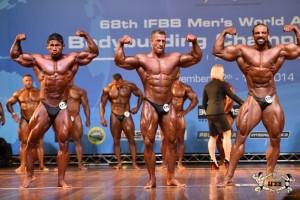 IFBB Amateur WM 2014: Tim Budeheim im Finale der Klasse bis 100 kg   ( Foto: ifbb.com / eastlabs)