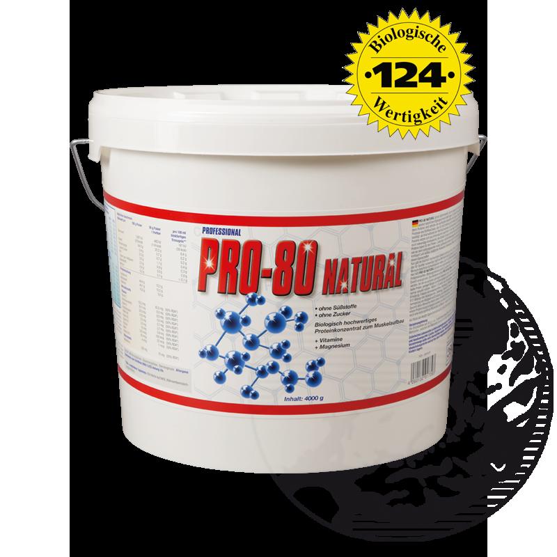 Pro-80-Natural-4000-g