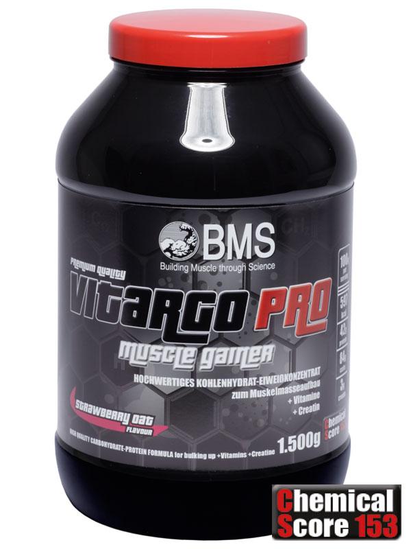 Vitargo Pro der Muscle Gainer von BMS