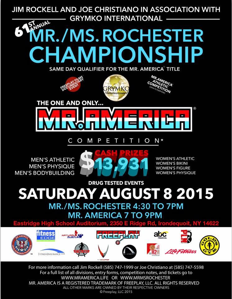 Mr.America Poster ( Quelle: www.mrmsrochester.com )