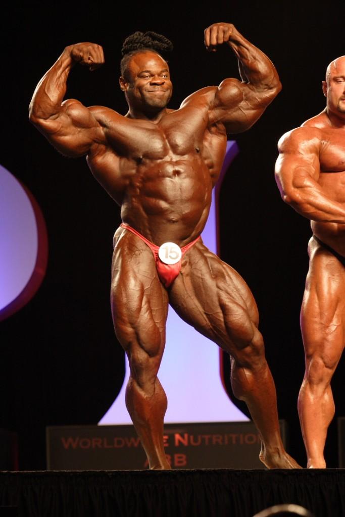 Kai Greene beim Mr.Olympia 2010 ( Foto : BMS Archiv)