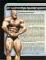 Ein zweimonatiges Spezialprogramm für maximalen Muskelzuwachs. Von Manfred Bachmann.