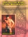 Der richtige Start in das Bodybuilding. Von Berend Breitenstein.