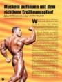 Muskeln aufbauen mit dem richtigen Ernährungsplan! Teil 1. Von Andreas Hermann.
